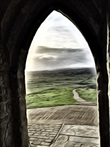 Malerei_GlastonburyTor